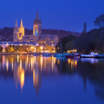 Truro at Night