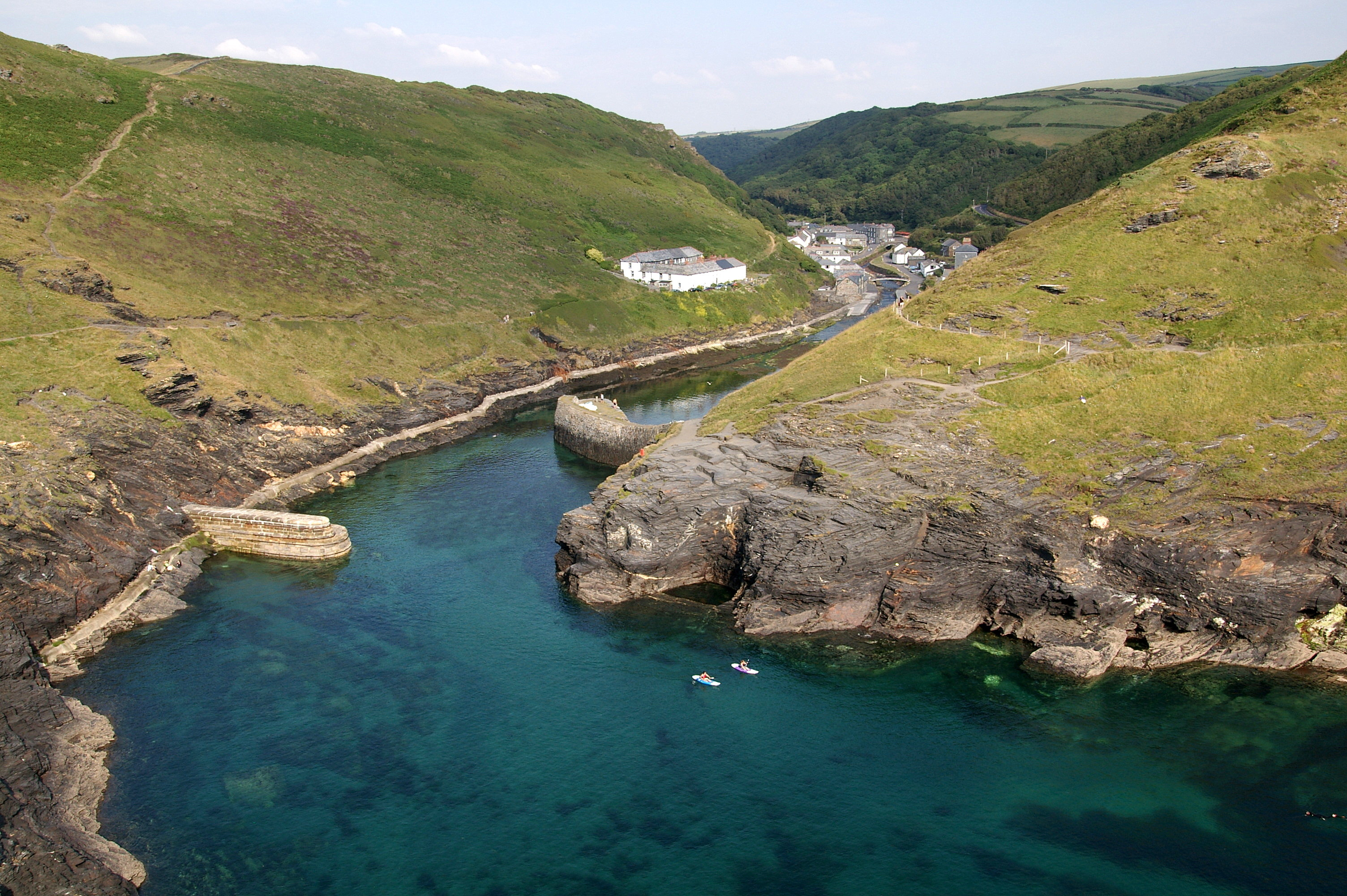 Boscastle near Tintagel